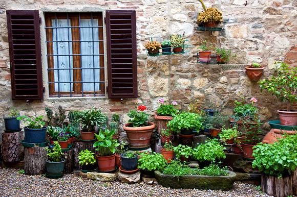 Italian Garden Patio Zenfolio Jennifer Lycke Artist Photographer