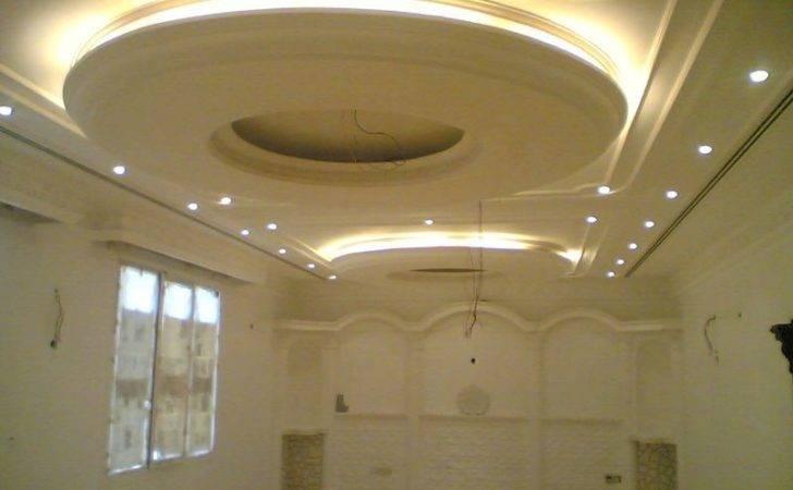 Italian Gypsum Board Roof Designs Decorations