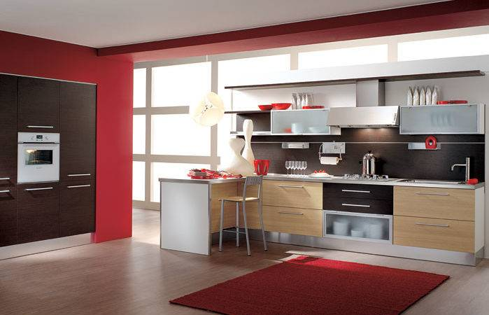 Italian Kitchen Design Minimalist Modern Style Luxury Home