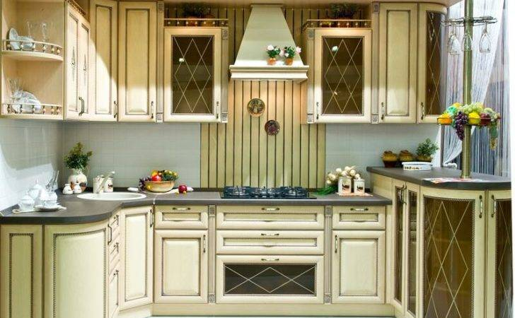 Italian Kitchen Design Traditional Style Cabinets Decor