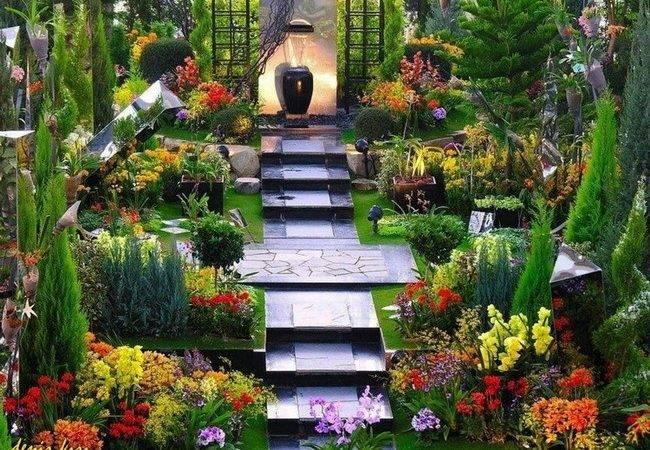 Italian Style Landscape Garden Landscaping Pinterest