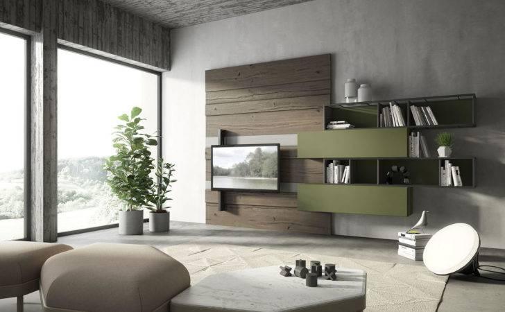 Italian Wall Units Vintage Flair New Furniture Designs