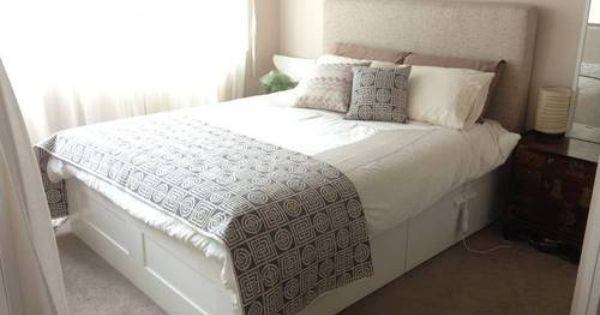 Items Gleefully Found Idea Ikea Brimnes Headboard Hack
