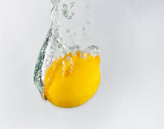 Items Similar Lemon Splash Wall Art Kitchen Decor Etsy