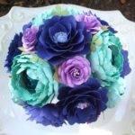 Items Similar Paper Bouquet Wedding Purple