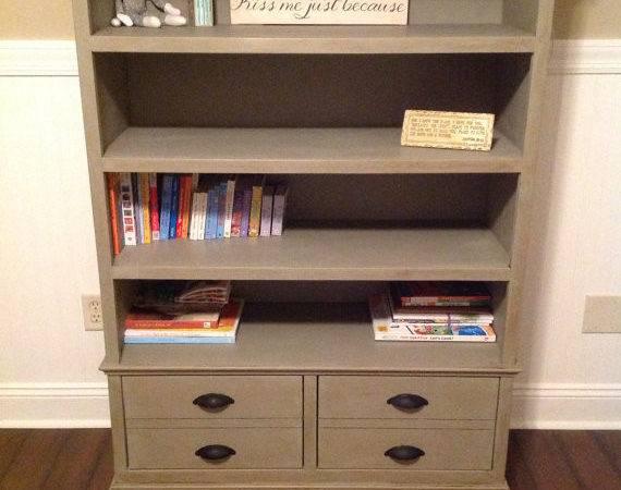 Items Similar Restoration Hardware Knockoff Bookcase Etsy