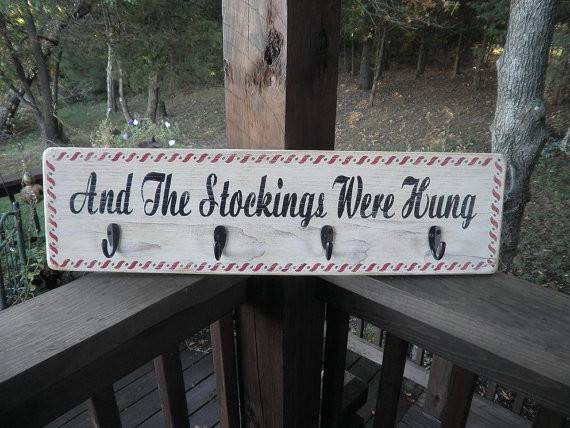 Items Similar Stockings Were Hung
