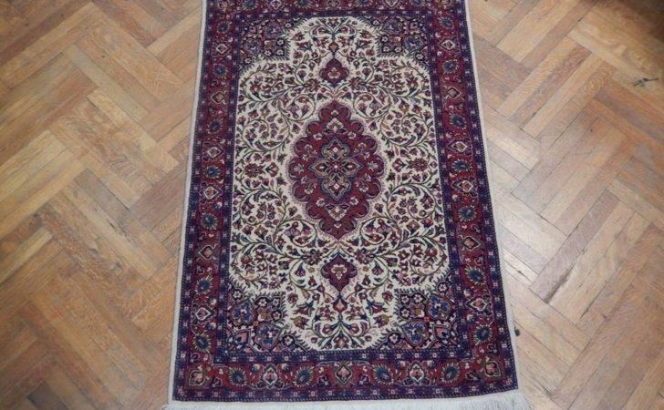 Ivory High End Handmade Rug Persian Tabriz Wool Ebay