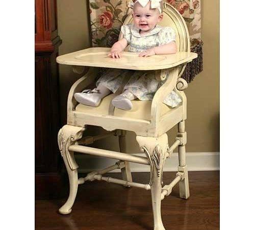 Ivory Luxury Baby Cribs Furniture Highchairs Poshtots