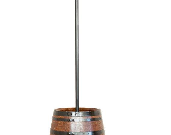 Iyn Wine Barrel Lighting Stands Hang String Lights Refined