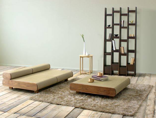 Japanese Eco Friendly Sofa Ottoman Agura Sajica Digsdigs