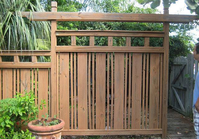 Japanese Fence Flickr Sharing