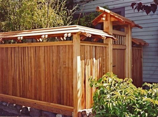 Japanese Fence Gate Montlake