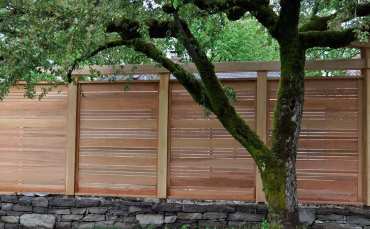 Japanese Fence Project Lake Oswego Oregon Portland Deck Builder
