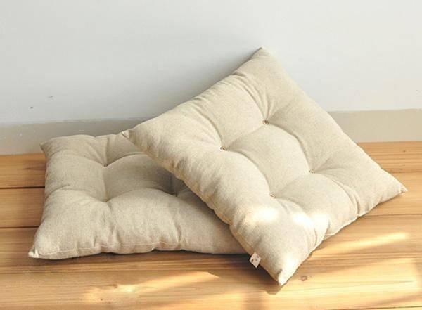 Japanese Floor Cushions Square Tatami Legless Chair Seating Meditation