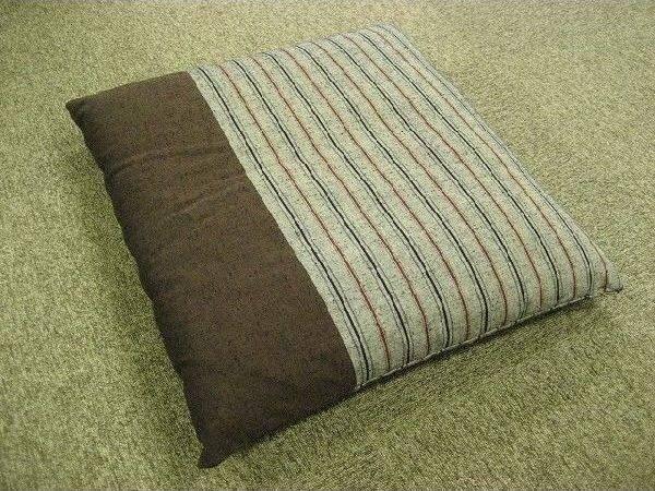 Japanese Floor Pillow Cushion Zabuton Kurume Textile Psdik