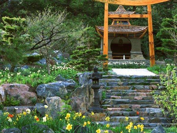 Japanese Garden Design Touch Flair