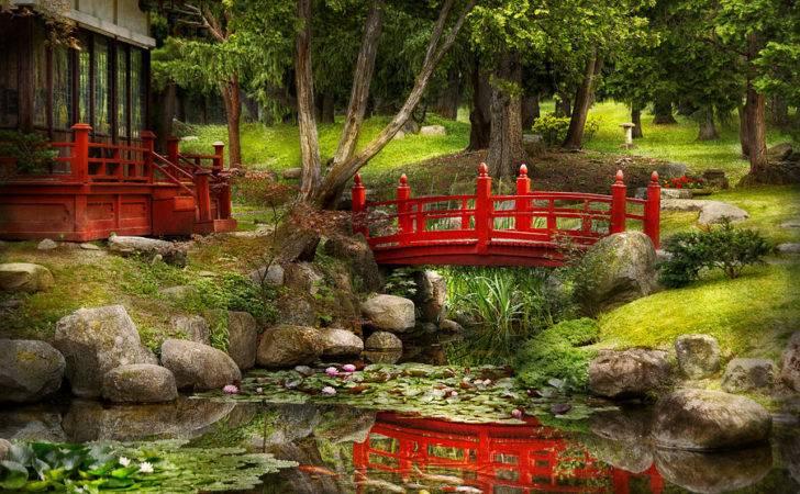 Japanese Garden Meditation Photograph Mike Savad