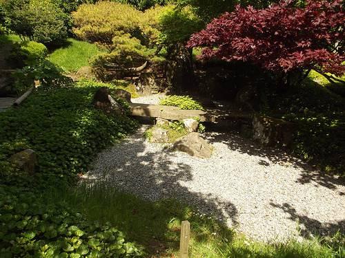 Japanese Garden National Botanic Wales Gravel