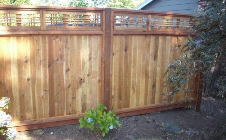 Japanese Lattice Top Fence Deck Masters Llc Portland
