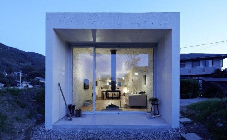 Japanese Minimalist Small House Interior Architecture Founterior