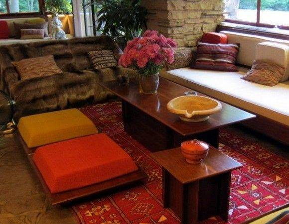 Japanese Style Floor Cushion Ideas Home Interiors Gardening