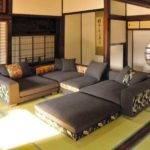 Japanese Style Living Room Ideas Modern Couch Set