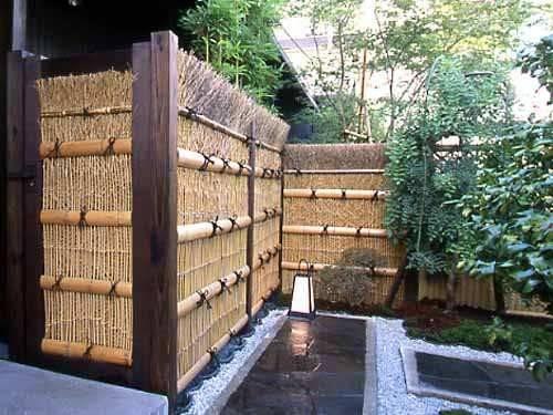 Japanese Style Wood Fence Car Interior Design