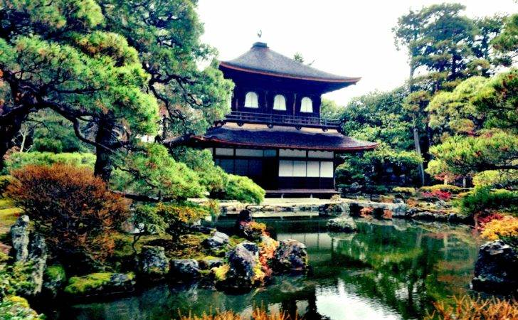 Japanese Temple Garden Diary Kyoto Japan