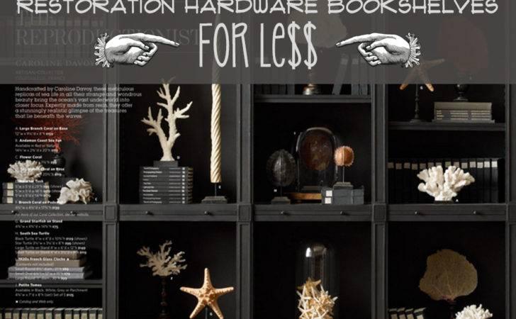 Jessica Stout Design Restoration Hardware Bookshelves Less