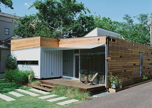 Jetson Green Container House Houston
