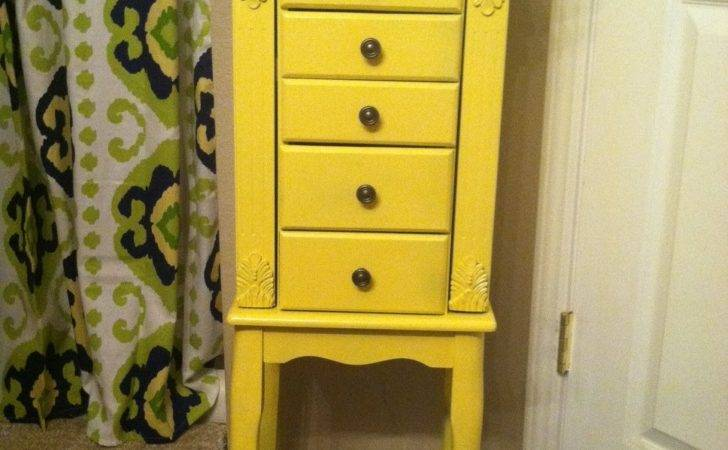 Jewelry Armoire Makeover