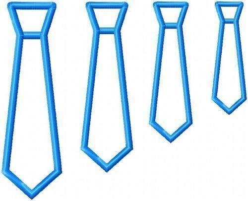 Jolson Designs Applique Tie