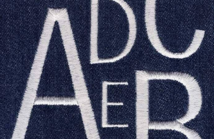 Jolson Designs Embroidery Font