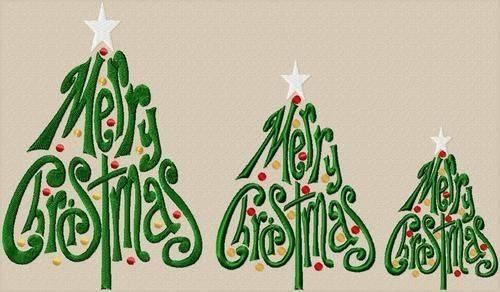 Jolson Designs Merry Christmas Tree