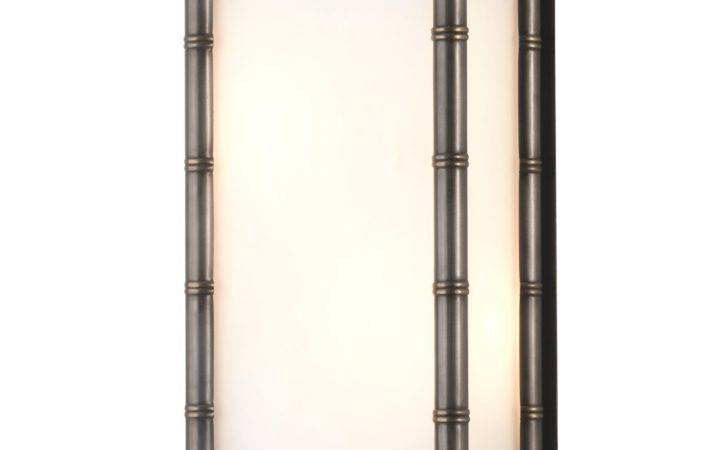 Jonathan Adler Meurice Light Small Wall Sconce Patina Bronze