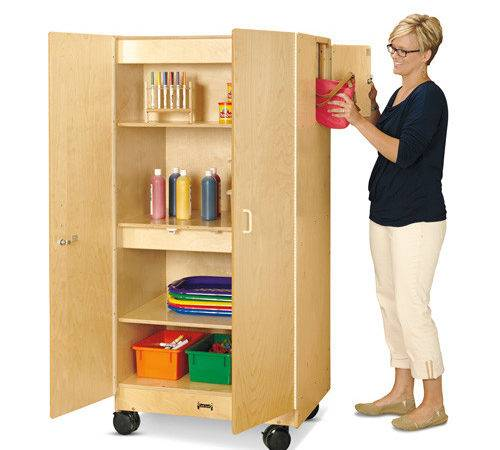 Jonti Craft Hideaway Storage Cabinet Mobile