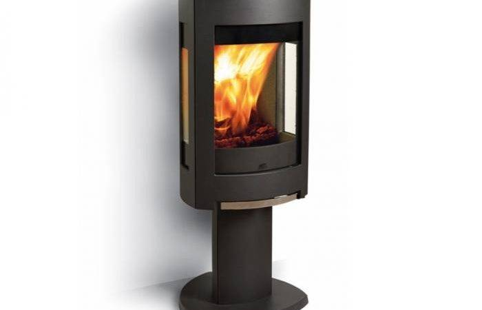 Jotul Modern Wood Burning Stove Gardenista