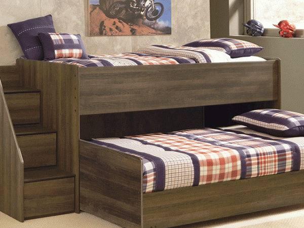 Juararo Loft Bed Caster Steps Left Lexington Overstock