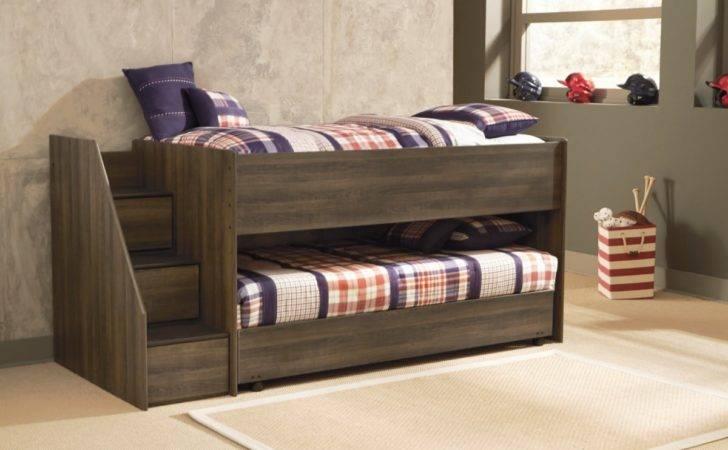 Juararo Twin Loft Caster Bed Ashley Furniture