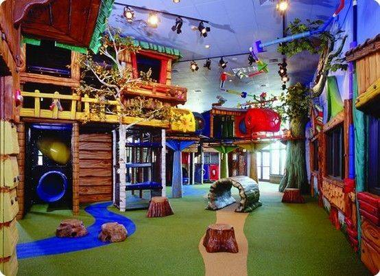 Jungle Gym Area Playroom Need House Big Basement