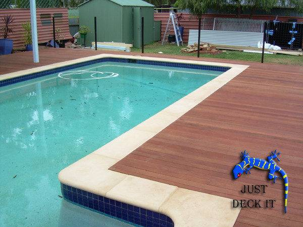 Just Deck Swimming Pool Decking Portfolio