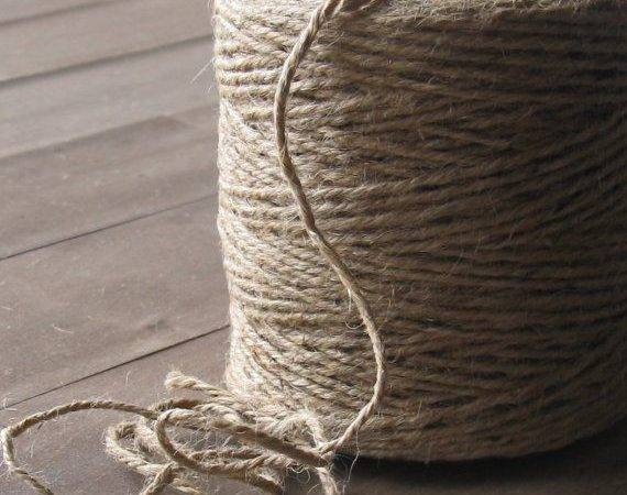 Jute Twine Yards Spool Rustic Gift Wrapping Artesenias
