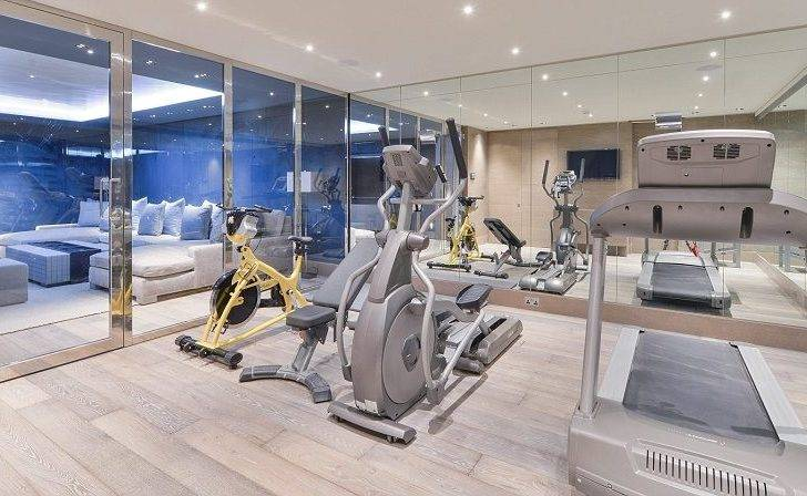 Keeping Fit House Gym Another Feature Extra Space
