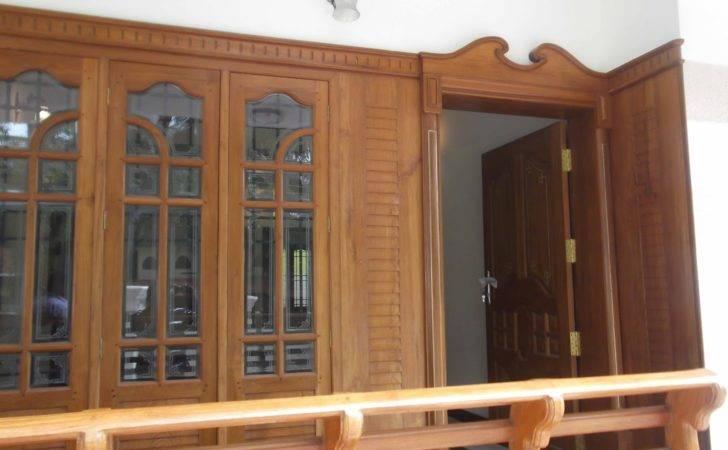 Kerala House Door Design Modern Home Decorating Ideas
