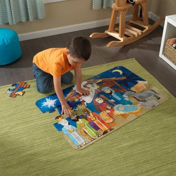 Kidkraft Nativity Floor Puzzle Shipping Orders Over