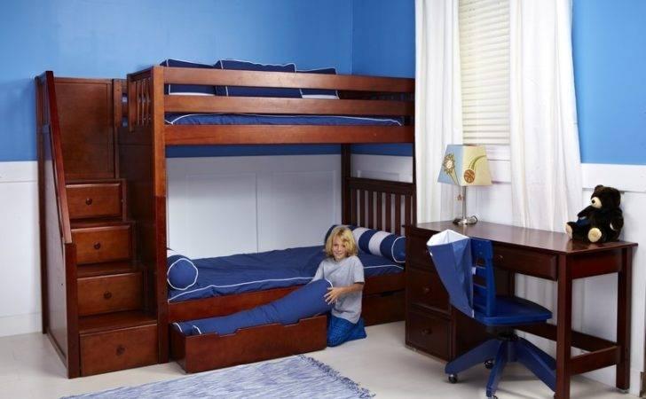 Kids Beds Bedroom Furniture Bunk Storage Maxtrix