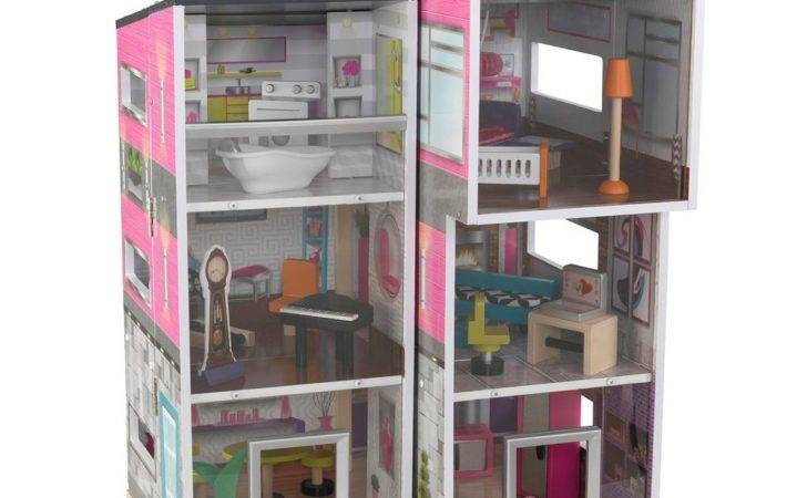 Kids Contemporary Deluxe Townhouse Play House Furniture