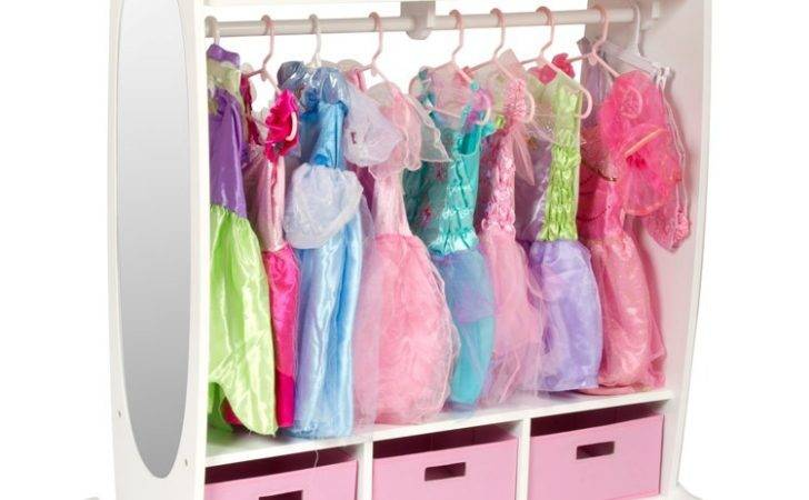 Kids Dress Storage Center White Educational Toys Planet