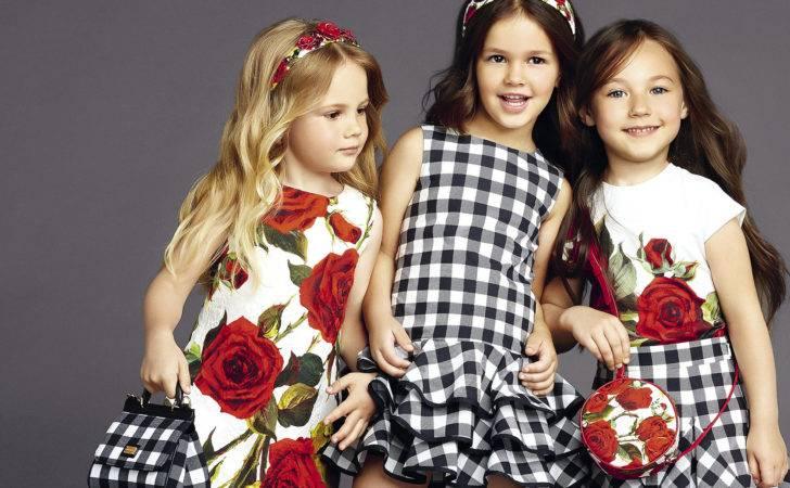 Kids Fashion Trends Tendencies Dress